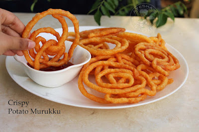 potato snack potato murukku potato chakli crispy snack with potato ayeshas kitchen snack recipes spicy snacks