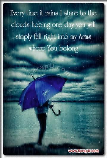 rain quotes romantic - photo #14