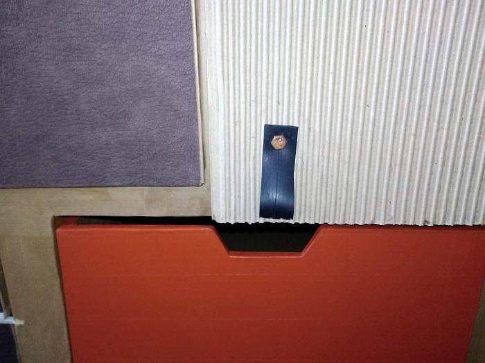 poignées de porte en chambre à air