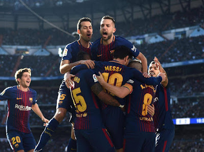 Highlight Real Madrid 0-3 Barcelona, 23 Desember 2017