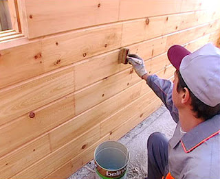 Защита деревянных фасадов