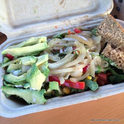 veggie salad at Westbrae Biergarten in Berkeley, California