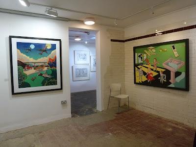 Pushing Print exhibition 2012