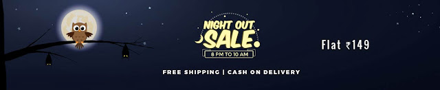 Shopclues Night Out Sale + cashback { Loot Now }