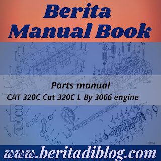Parts manual CAT 320C Cat 320C L By 3066 engine