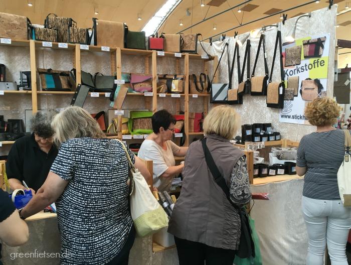 Stand von Stickhand.de auf der Nadelwelt in Karlsruhe 10.-12. Juni 2016