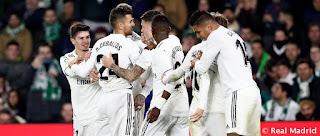 El Real Madrid-Betis se jugara el domingo a las 12:00