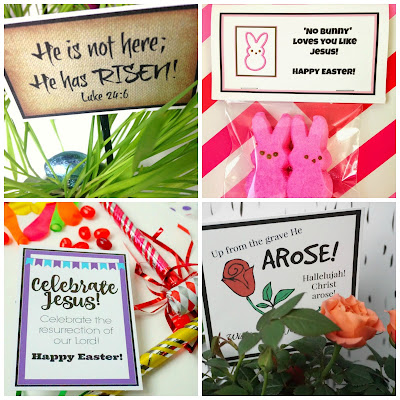 Easter Printables for Gifts, Treats and Favors