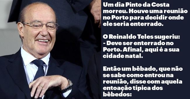 Um dia Jorge Nuno Pinto da Costa faleceu...