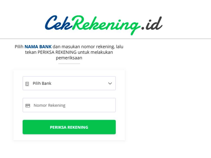 Cara Melaporkan Nomor Rekening Penipuan Di Situs Cekrekening Id