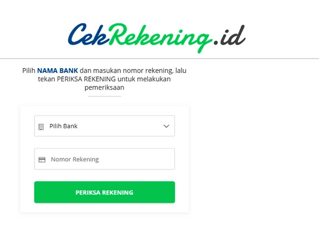 Cara Melaporkan Nomor Rekening Penipuan di Situs cekrekening.id