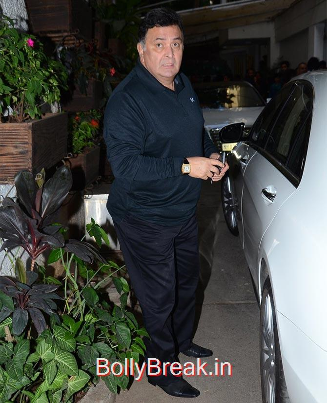 Rishi Kapoor, Photograph: Pradeep Bandekar, Anushka Sharma Hot Pics At Bombay Velvet screening