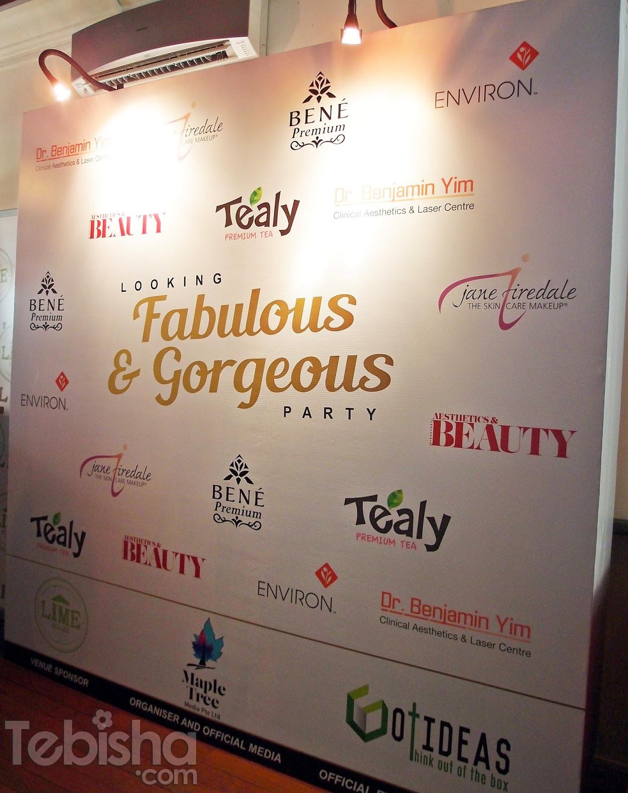 Event] Aesthetics & Beauty 'Looking Fabulous & Gorgeous