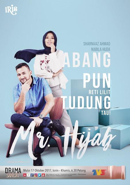 Sinopsis drama Mr Hijab TV3 lakonan Nabila Huda dan Sharnaaz Ahmad, pelakon dan gambar drama Mr Hijab TV3