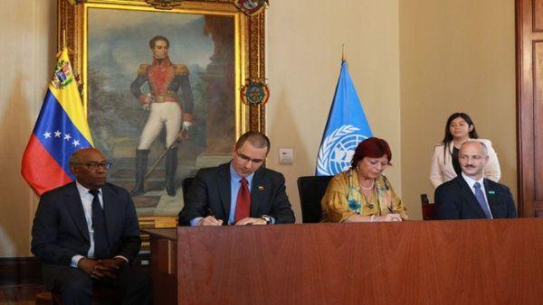 Venezuela firma acuerdo con Unicef para apoyar a la niñez
