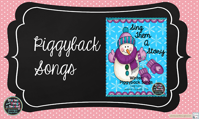 Songs that tell stories and piggyback off of familiar folk tunes are perfect ways to help primary grade students develop reading fluency!
