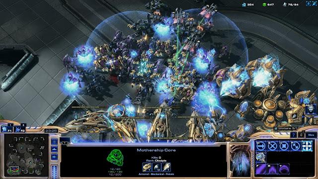 StarCraft 2 I Protoss vs Terran