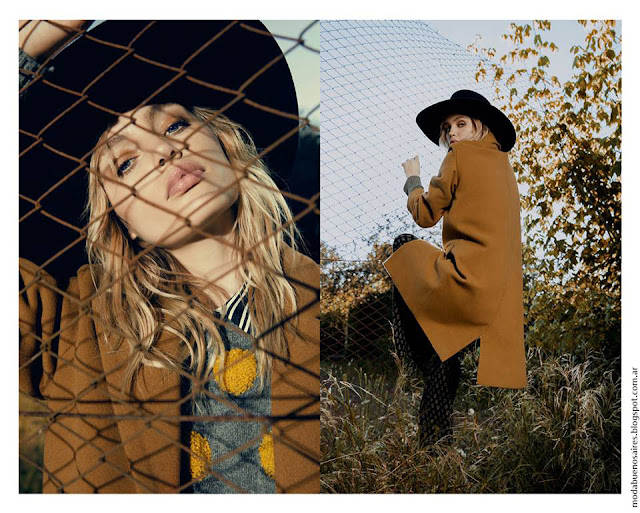 Moda otoño invierno 2016 Complot tapados invierno 2016 moda juvenil.