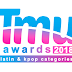 tmu awards: latin and Kpop categories