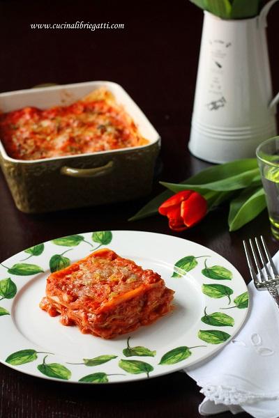 lasagne porri ragù salsiccia ricetta