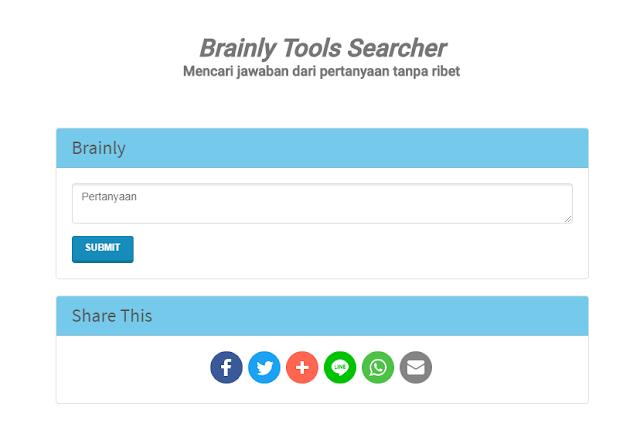Cari Pertanyaan dan Jawaban di Brainly Tanpa Mengetik di Google Tanpa Ribet