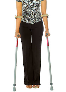 Folding Elbow Crutches