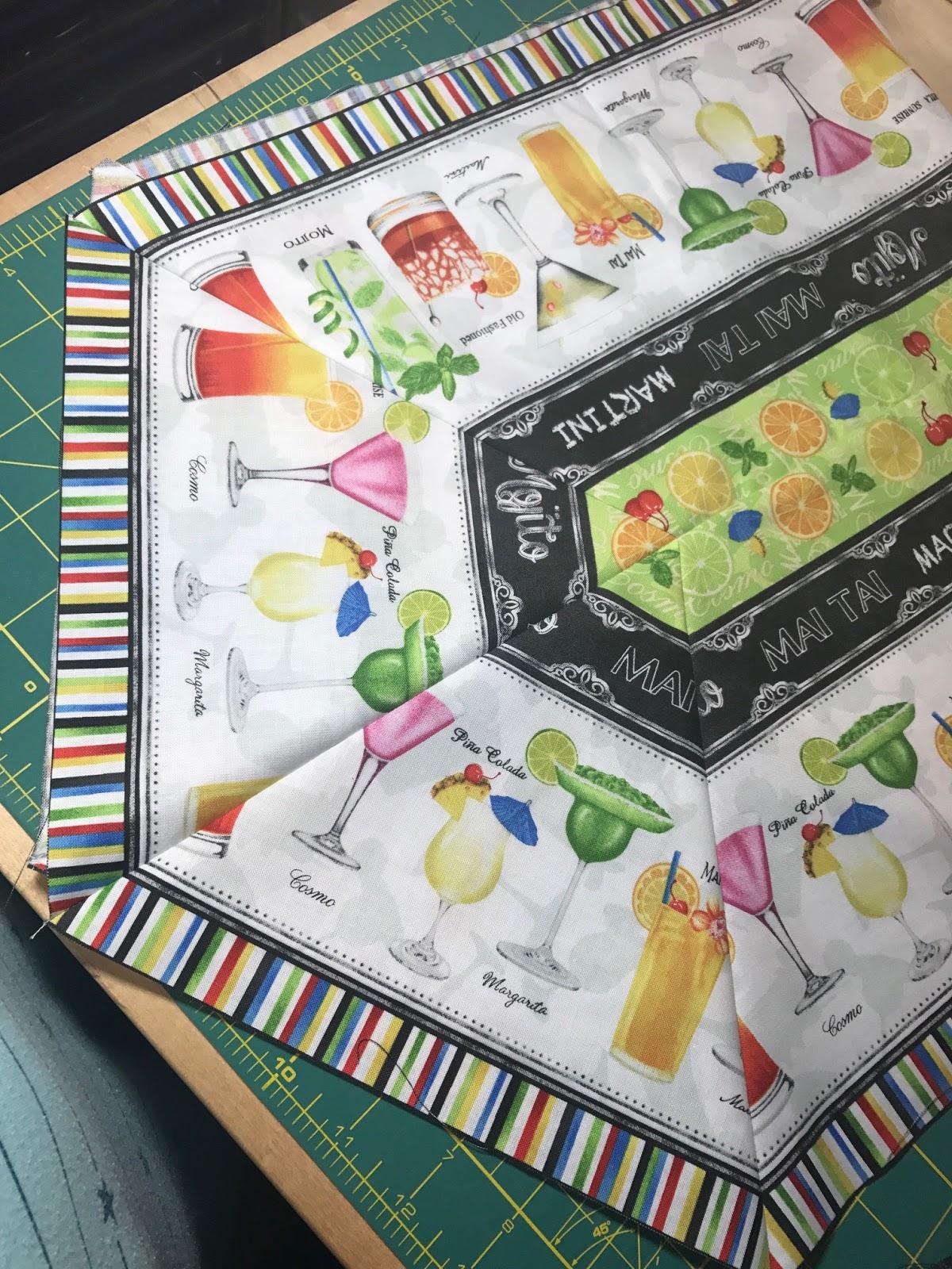 Sew Random Table Runner Pattern