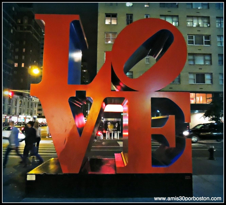 Segunda Vista a Nueva York: Escultura Love