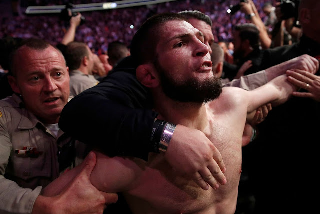 UFC 229: Khabib Nurmagomedov's Win Over Conor McGregor Marred By Post-Fight Brawl