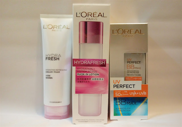 >> 懶人保鮮肌膚方程式*L'ORÉAL PARiS HYDRAFRESH 水清新葡萄籽面膜精華水 Hydration + Antiox Active Mask-in Lotion