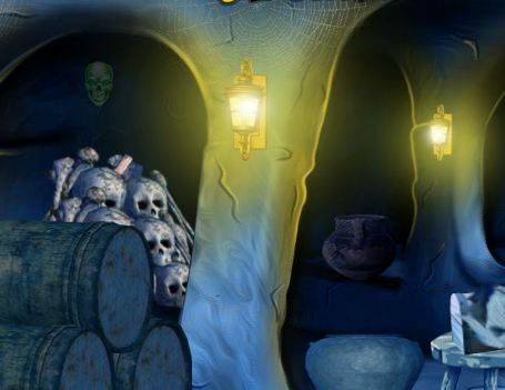 5nGames Blue Treasury Cave Escape 2 Walkthrough