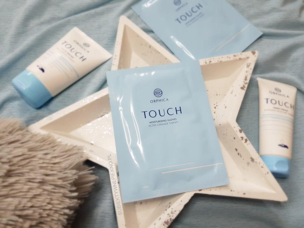 ULUBIEŃCY PAŹDZIERNIK 2018 - rękawiczki nawilżające Ophica Touch