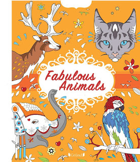 Cool & Calm Coloring for Kids: Fabulous Animals