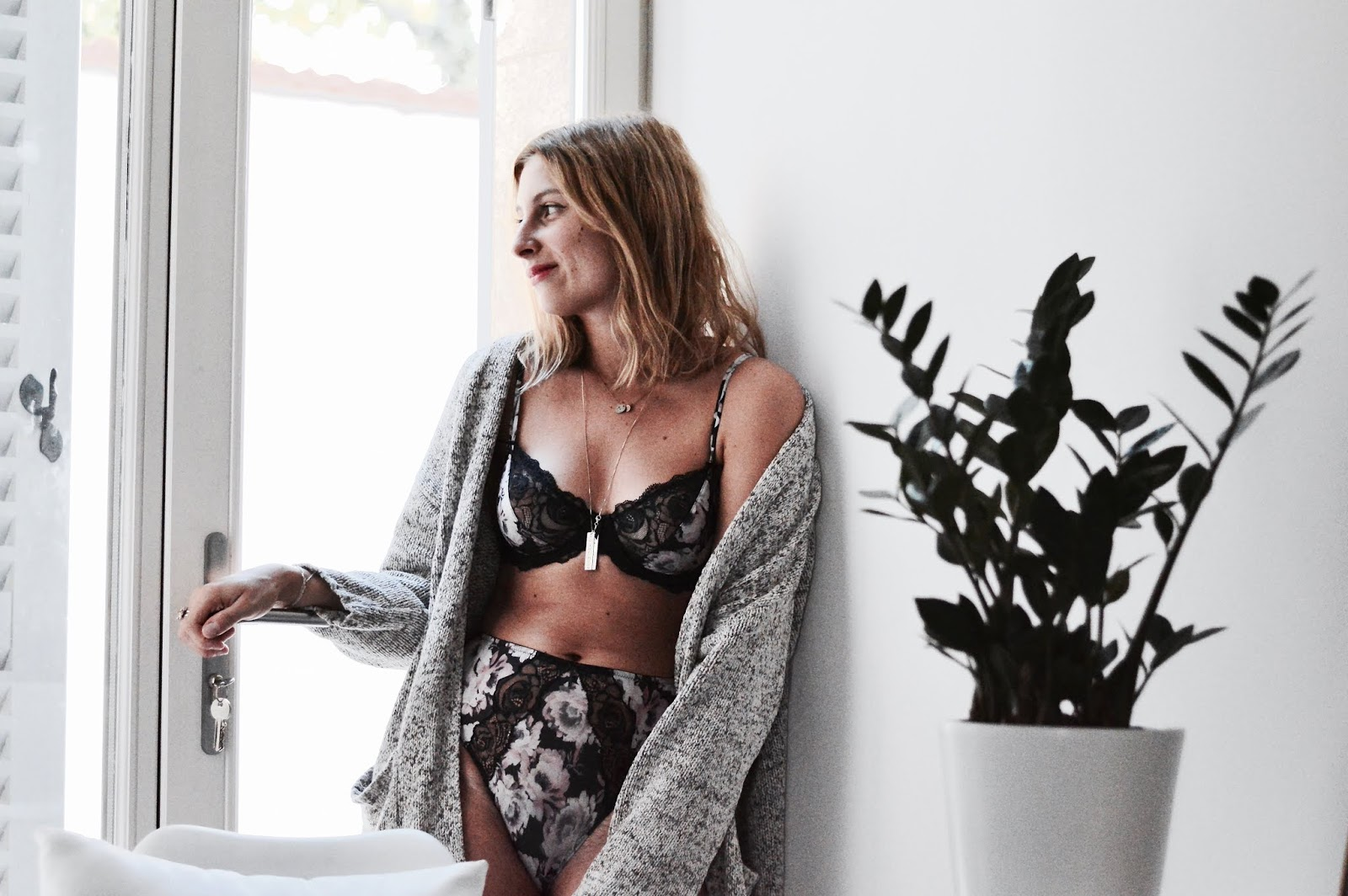 Glamuse : ensemble lingerie Axelle Marie Jo nouvelle collection AH18