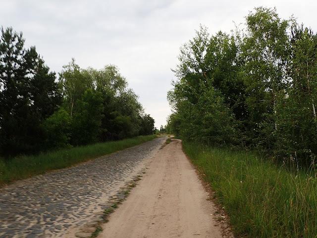 Poleskie drogi tak wyglądają