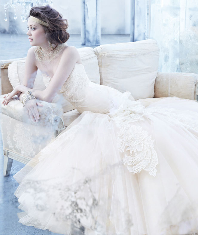 Wedding Gown 2013: Lazaro Fall 2013 Bridal Gown Collection