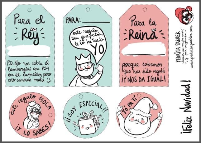 Una pizca de hogar 10 etiquetas para regalos imprimibles for In regalo gratis