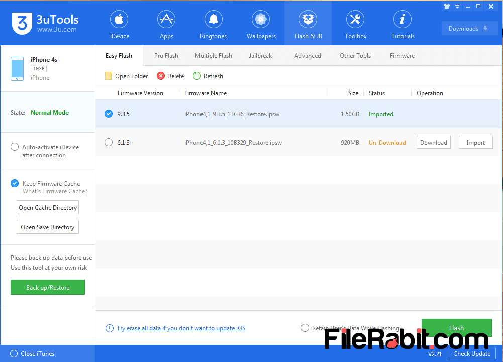 FileRabit com: Download 3uTools
