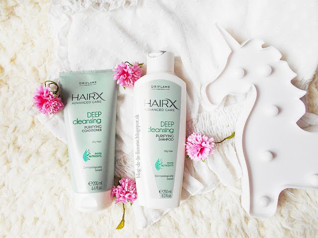 Oriflame HairX Advanced Care Deep Cleansing kolekcia