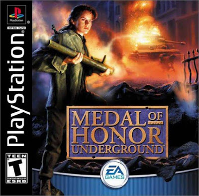 descargar medal of honor underground psx mega