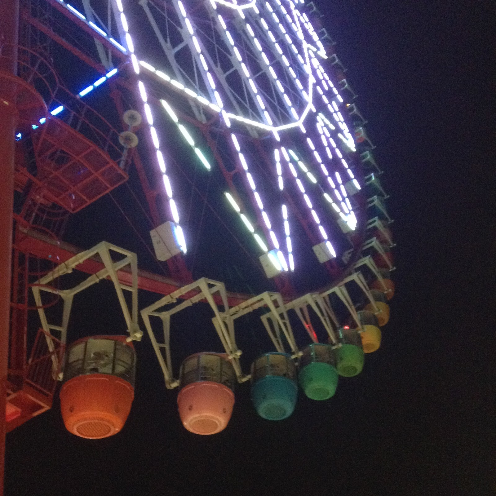 Odaiba Rainbow ferris wheel