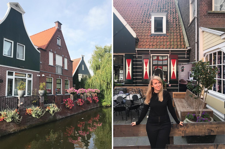 Volendam houses netherlands
