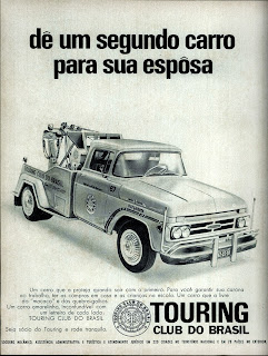 propaganda Touring Club do Brasil - 1970. 1970. propaganda carros anos 70.história década de 70; Brazilian advertising cars in the 70s, propaganda anos 70; reclame década de 70. Oswaldo Hernandez;