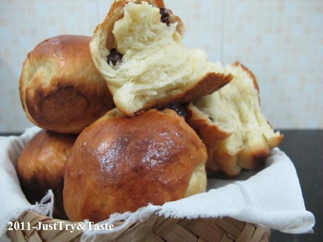Obsesi Roti 12: Roti Gulung Kismis