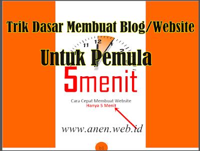Panduan Membuat Blogspot Untuk Jualan Dari 5 Menit - Tips Blogger