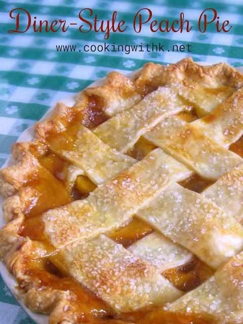Diner-Style Peach Pie