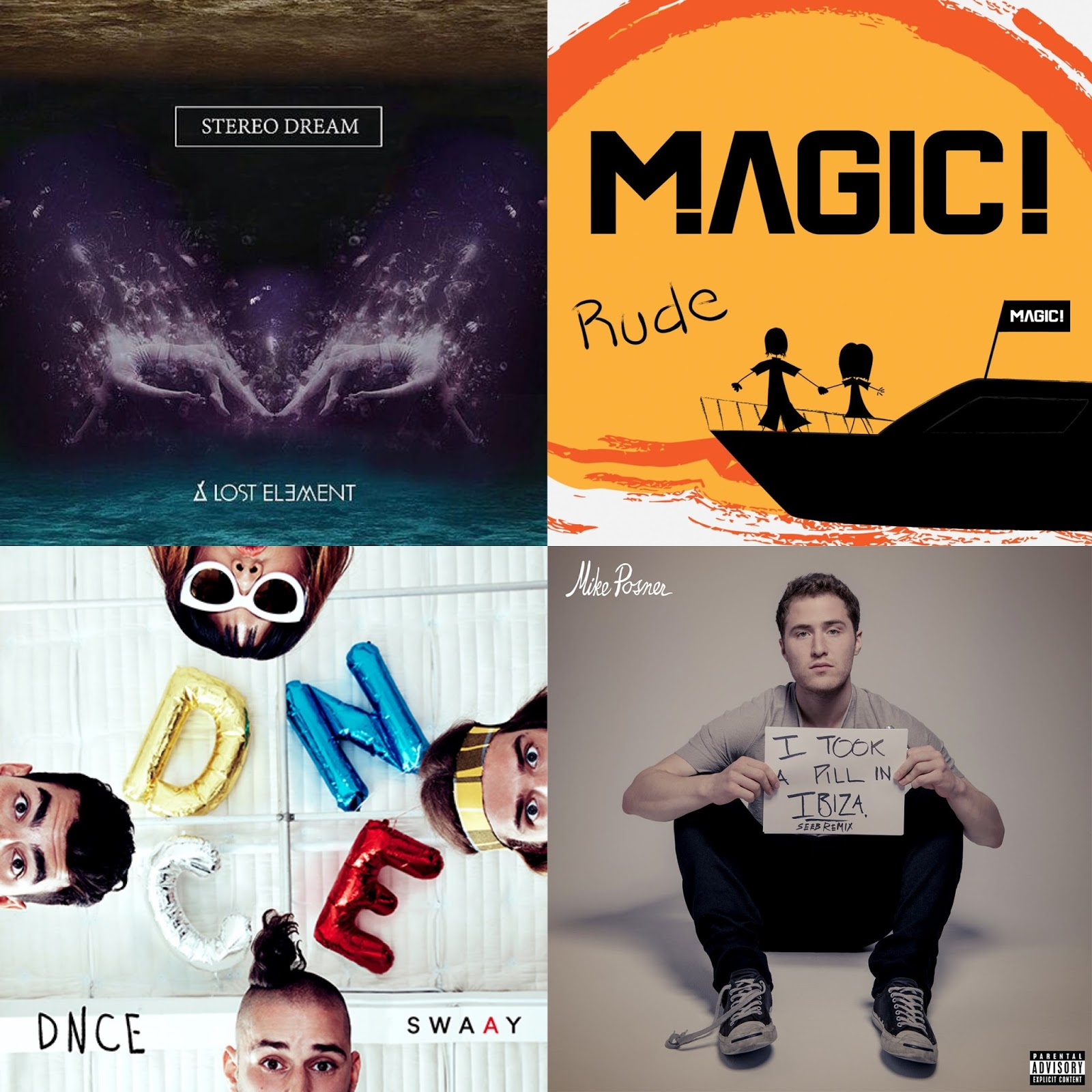 What I've Been Listening To This Month   April