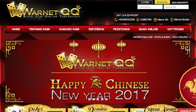WARNETQQ.COM Game Judi Online, Situs Judi Online Terpercaya, Situs BandarQ Teraman dan Terpercaya