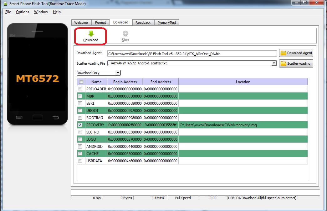 Cara Root dan Pasang TWRP di Lenovo A369I