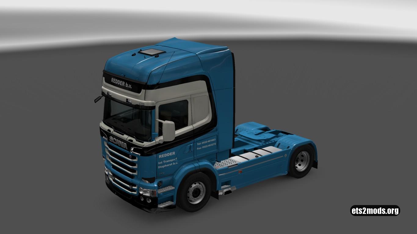 Scania RJL Redder Transport Skin